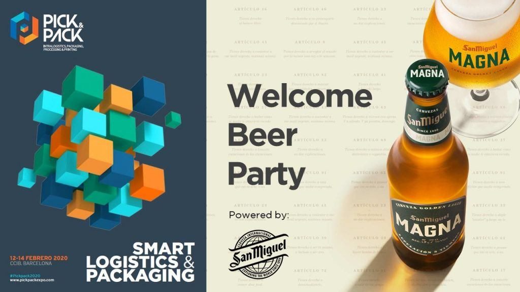 welcome beer party by san miguel