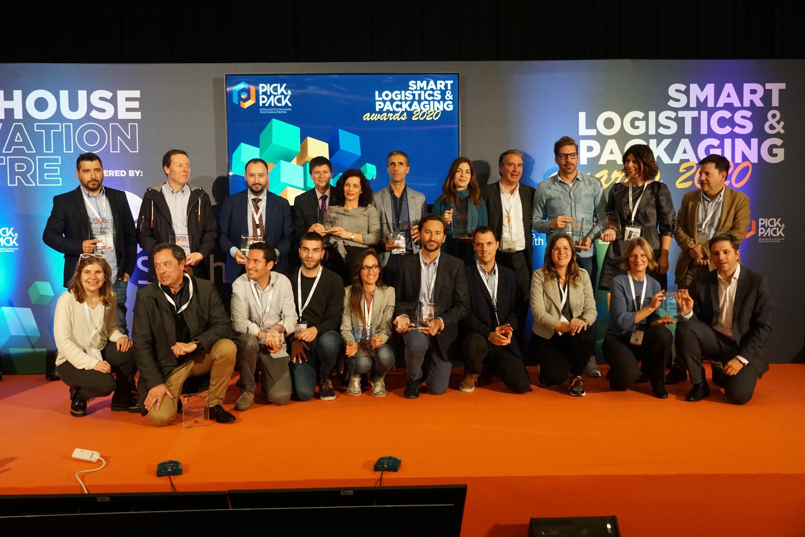 Pick&Pack premia la apuesta por los almacenes 4.0 y la digitalización intralogística con los Smart Logistics & Packaging Awards 2021